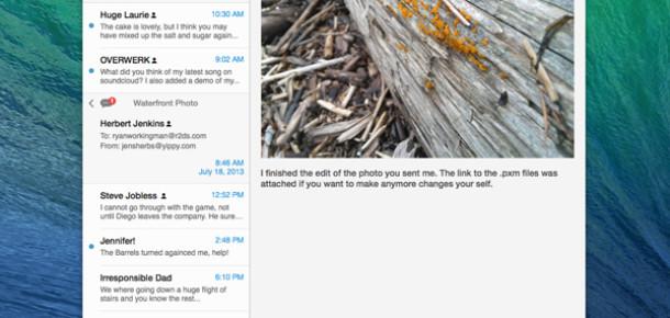 Apple OS X Mavericks'teki E-Posta Sorunu İçin Güncelleme Yayınlayacak