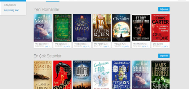 Google Play Books Türkiye'de Kullanıma Açıldı