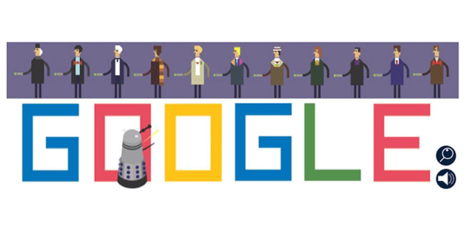 Google'dan Doctor Who'nun 50.Yılına Özel İnteraktif Doodle