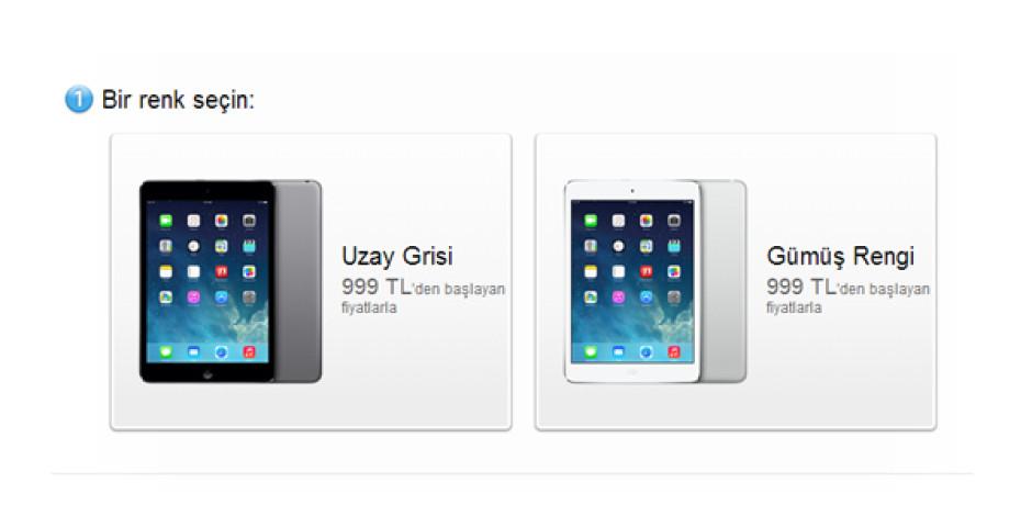 Retinalı iPad mini ve iPad Air, 27 Kasım'da Türkiye'de