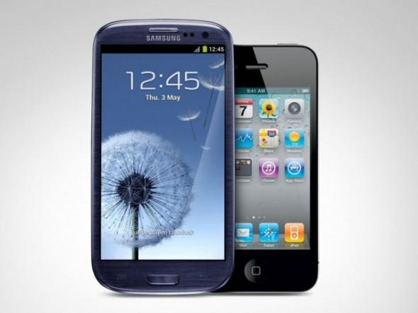 iphone 4s&samsung galaxy s3