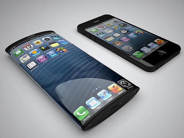 Kavisli iPhone