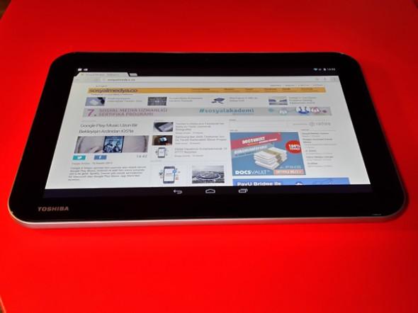 Toshiba'dan Orta Seviye İçin Fiyat/Performans Tableti: Excite Pure [İnceleme]