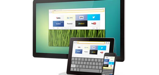 Yandex.Browser'ın iPhone ve Android Tablet Sürümleri Yayınlandı