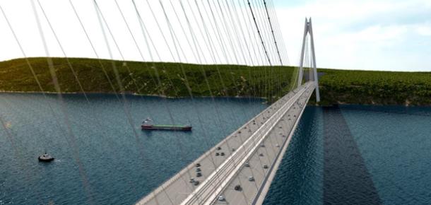 3. Boğaz Köprüsü'nün Yapım Aşamalarını Online Takip Edebilirsiniz