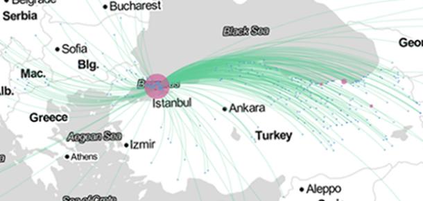Facebook'a Göre İstanbul Dünyanın En Çok Göç Alan İkinci Şehri