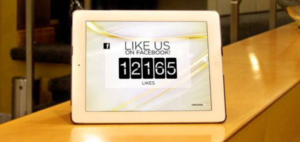 Facebook Beğenilerini Gerçek Zamanlı Olarak iPad'inizden Takip Edin
