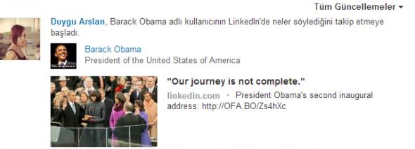 LinkedIn-Guncellemeler