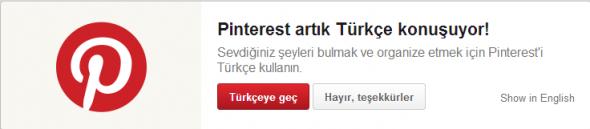 Pinterest-Turkce