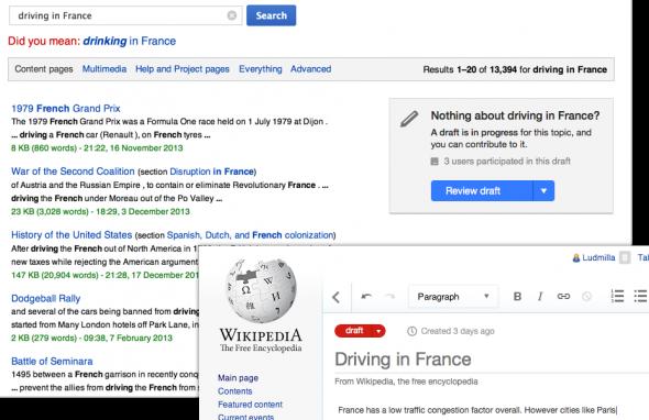 Wikipedia-Draft