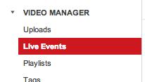 YouTube Canlı