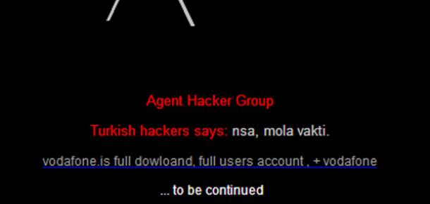 Türk Hacker'lar Vodafone İzlandayı 'Hack'ledi