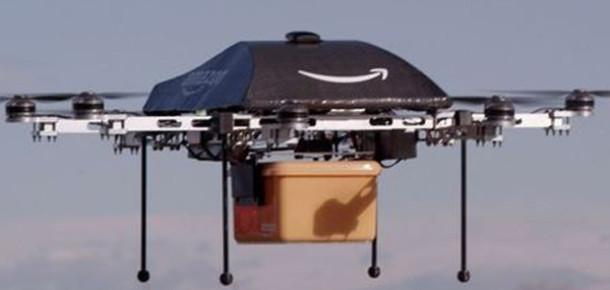 Amazon, İnsansız Hava Araçları ile Yarım Saatte Teslimat Yapacak