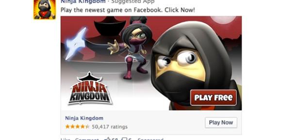 Facebook Masaüstü Uygulama Reklamlarını Tanıttı
