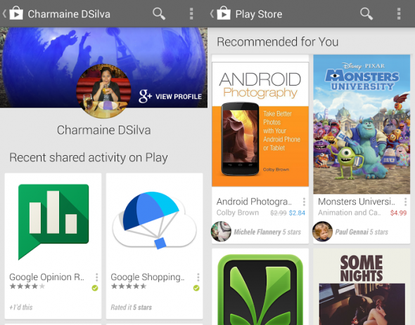 Google Play Google Plus