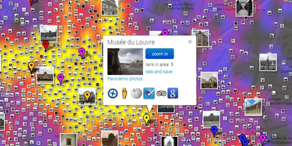 Fotoğraflardan Oluşturulan İnteraktif Gezi Haritası: Sightsmap