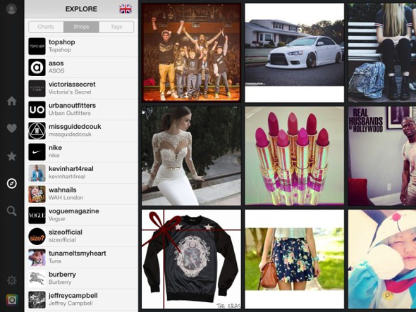 instagram1 Instagram'ı iPad'e Getiren Mobil Uygulama: Flow Instagram'ı iPad'e Getiren Mobil Uygulama: Flow instagram11