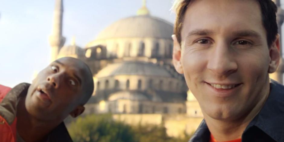 Kobe ve Messi İstanbul'da