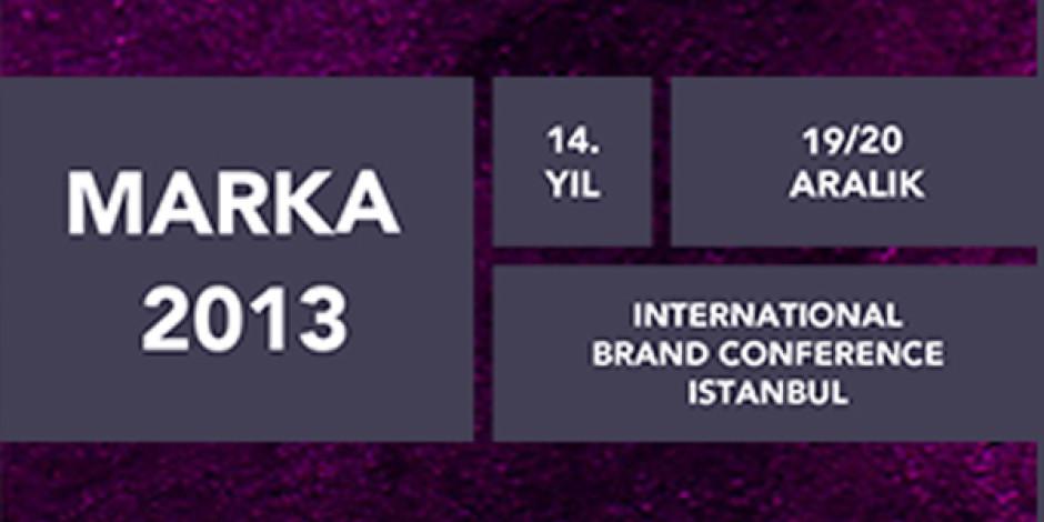 MARKA 2013 Konferansı İçin Geri Sayım Başladı