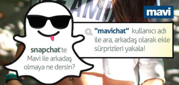 Mavi, Snapchat'teki İlk Türk Markası Oldu