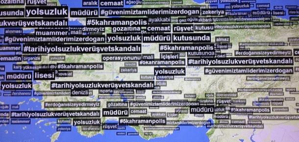 Türkiye Sosyal Medyada Yolsuzluk Operasyonunu Konuşuyor