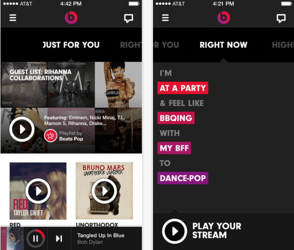 Beats Music iOS