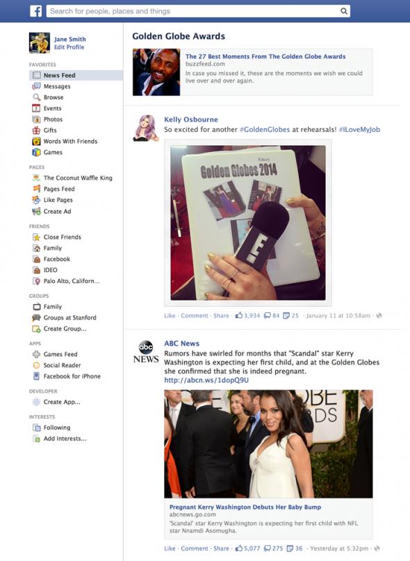 Facebook-trending-landing-page