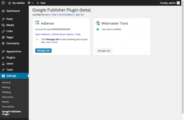 Google-Publisher-Plugin