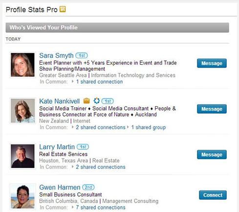 LinkedIn-Profil-Goruntuleme