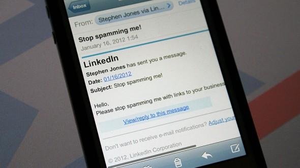 LinkedIn-Spam