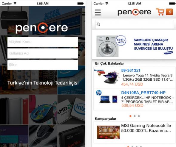 Pencere-app-store