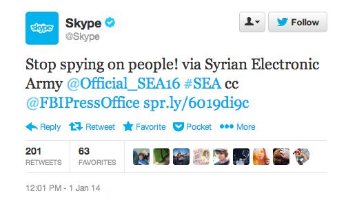 Skype-Twitter