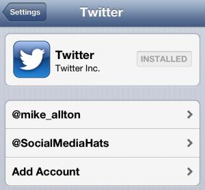 Twitter iOS Uygulama Ayarları