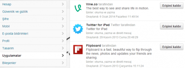 Twitter-Uygulamalar