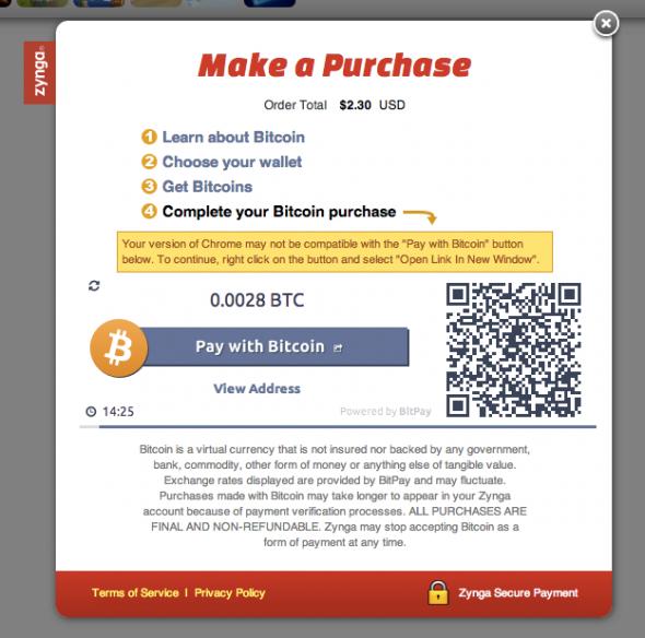 Zynga-Bitcoin