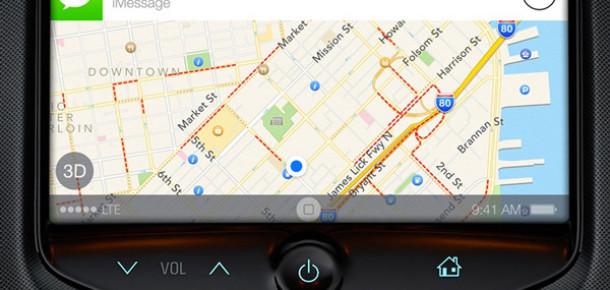 Otomobiller İçin Geliştirilen iOS'un Arayüzü Ortaya Çıktı