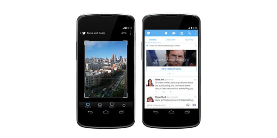 Twitter'dan Mobilde İki Önemli Özellik