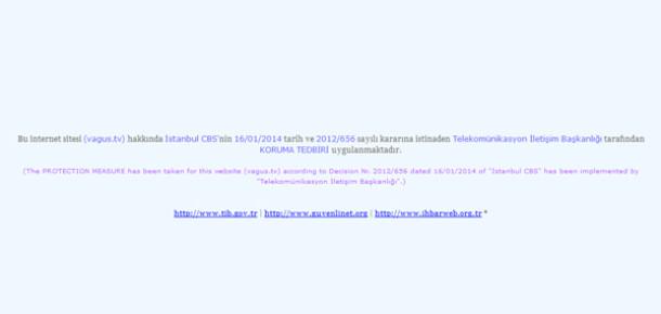 Sansür Dalgası Yayılıyor: TİB Vagus.tv'ye Erişimi Engelledi