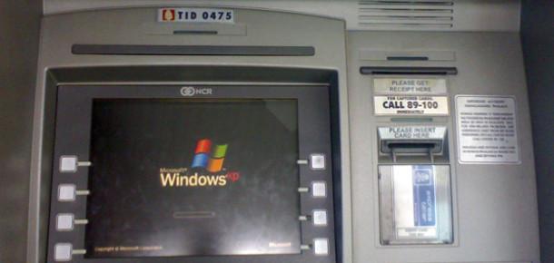 Windows XP'nin Emekliye Ayrılması ATM'lerin %95'ini Doğrudan Etkileyecek