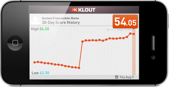 Klout-iphone