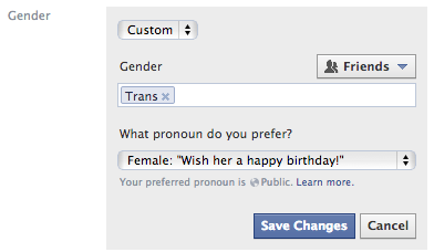 facebook-cinsiyet