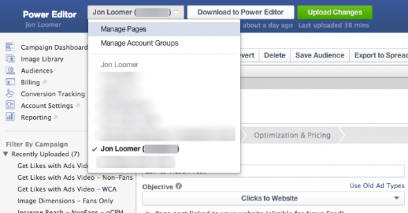facebook-power-editor-manage-pages