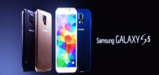 Samsung Yeni Nesil Akıllı Telefonu Galaxy S5'i Resmen Tanıttı