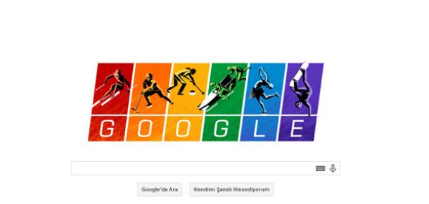 Google'dan Eşcinsellik Karşıtı Rus Hükümeti'ne Olimpiyat İlkeleri Göndermesi