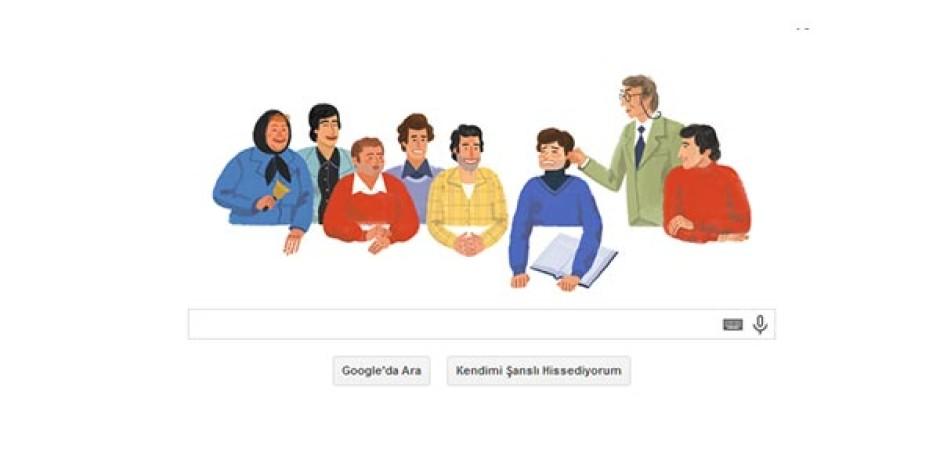 Google'dan Ertem Eğilmez'in Doğum Gününe Özel Doodle