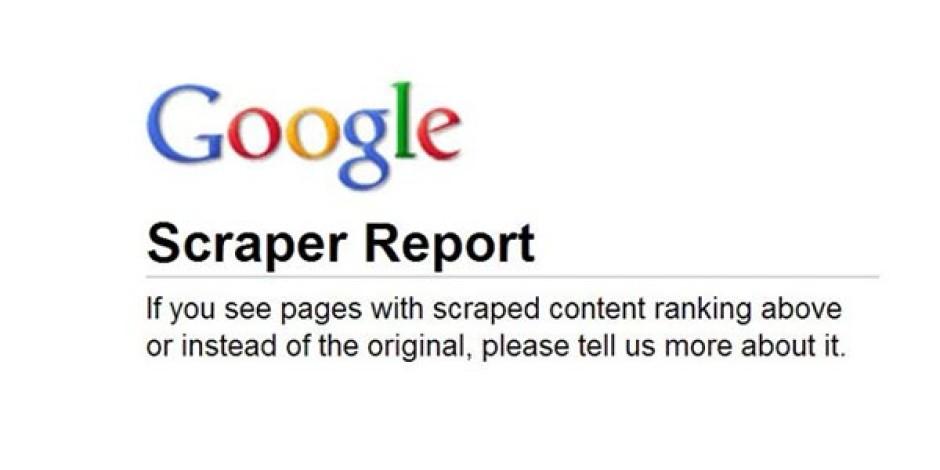 Google Scraper Report İle Arama Sonuçlarında Uğradığınız Haksızlıkları Bildirin