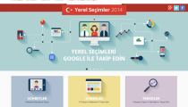 Google'dan 2014 Yerel Seçimlerine Özel Sayfa