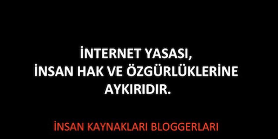 """İK Blogger'larından İnternet Yasasına Karşı """"İnternetÖzgürdür"""" Platformu"""