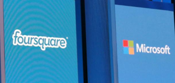 Microsoft, 15 Milyon Dolarlık Yatırımla Foursquare'in Veri Ortağı Oldu