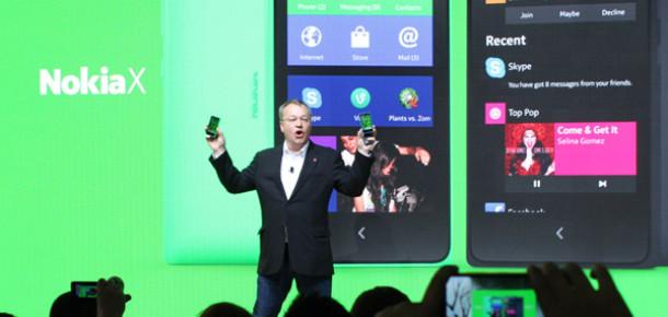 """Android ve Windows Phone Melezi """"Nokia X"""" Görücüye Çıktı [MWC 2014]"""